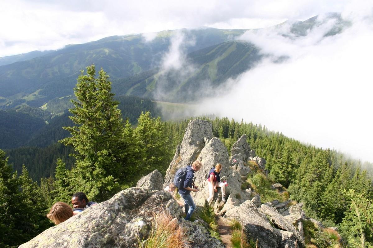 Wandel en outdoorvakantie Oostenrijk Pension 25 t/m 45 jaar